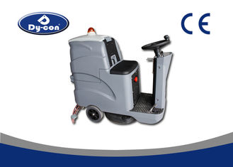 Heavy Duty Industrial Floor Scrubber Machine , Concrete Floor Cleaner Machine