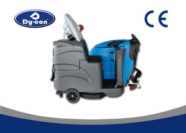 Dycon Industrial Light Gray Batteryt Dc Floor Scrubber Dryer Machine With A Seat